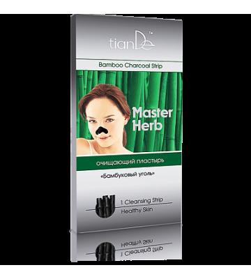 Очищающий пластырь для носа  «Бамбуковый уголь» Master Herb