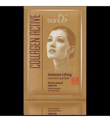 Корректирующая маска для лица «Интенсивный лифтинг» Collagen Active