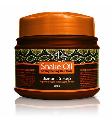 Укрепляющая маска для волос «Змеиный жир»