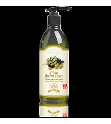 Крем-гель для душа «Солнечные оливки»