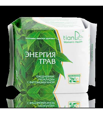Ежедневные прокладки с фитомембраной «Энергия трав»